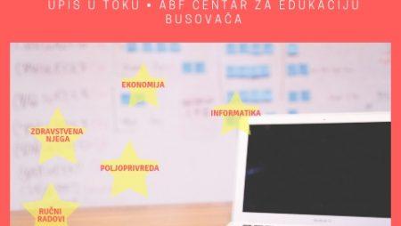UPIS nove generacije polaznika u Školu za nezaposlene